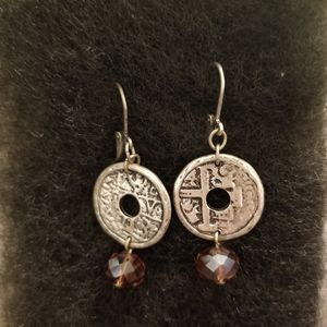 Premier Designs Passionista Coin Earrings - New